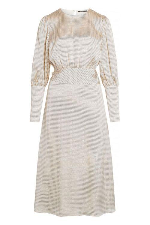 Bruuns Bazaar Kjole Acacia Ellisa Dress White Cream Front