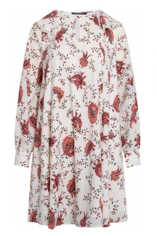 Bruuns Bazaar Kjole Aster Oceane Dress Paisley Flower Print Front
