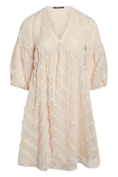 Bruuns Bazaar Kjole Borage Serine Dress Sandstorm Front