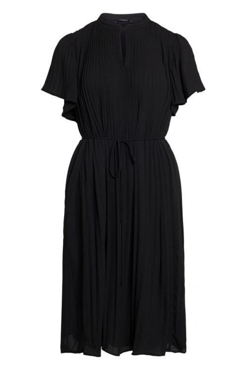 Bruuns Bazaar Kjole Camilla Calia Dress Black Front