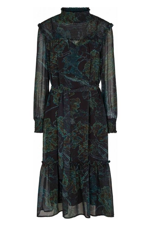 Bruuns Bazaar Kjole Delicate Jacobin Dress Delicate Artwork Front