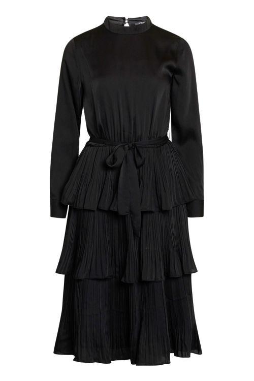 Bruuns Bazaar Kjole Emilleh Enola Dress Black Front