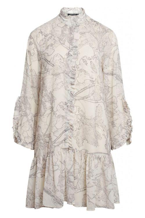 Bruuns Bazaar - Kjole - Ivy Rosemary Dress - Snow White
