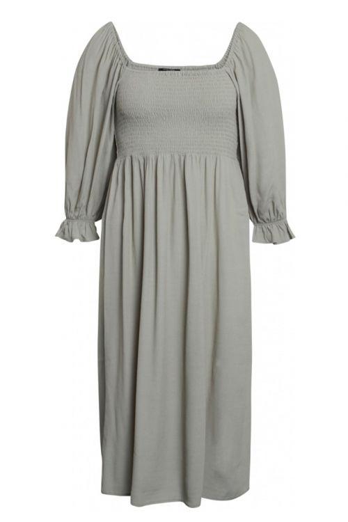 Bruuns Bazaar - Kjole - Lilli Sasane Dress - Seagrass