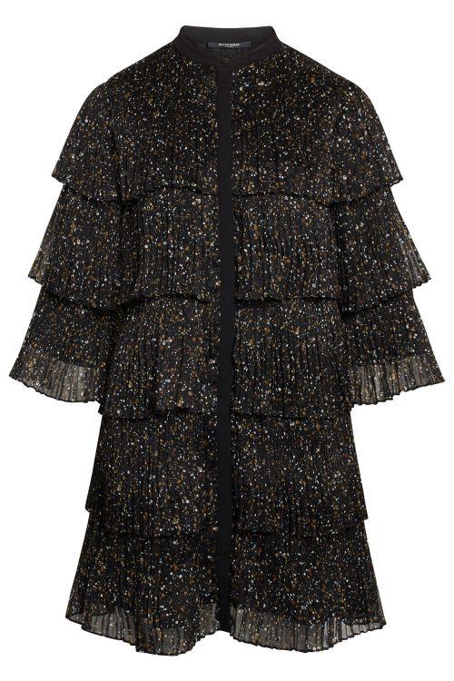 Bruuns Bazaar Kjole Marline Marisan Dress Black Front