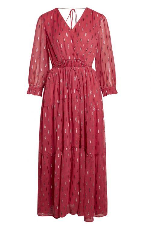 Bruuns Bazaar - Kjole - Persian Leaurie Dress - Claret Pink