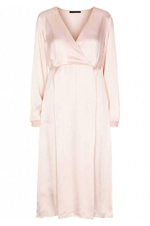 Bruuns Bazaar Kjole Sofia Naya Dress Soft Rose Front