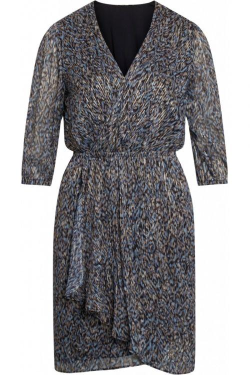 Bruuns Bazaar - Kjole - Vervain Sascha Dress - Modern Artwork Dark