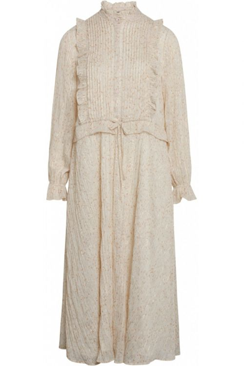 Bruuns Bazaar - Kjole - Vervain Theresa Dress - Modern Artwork Light