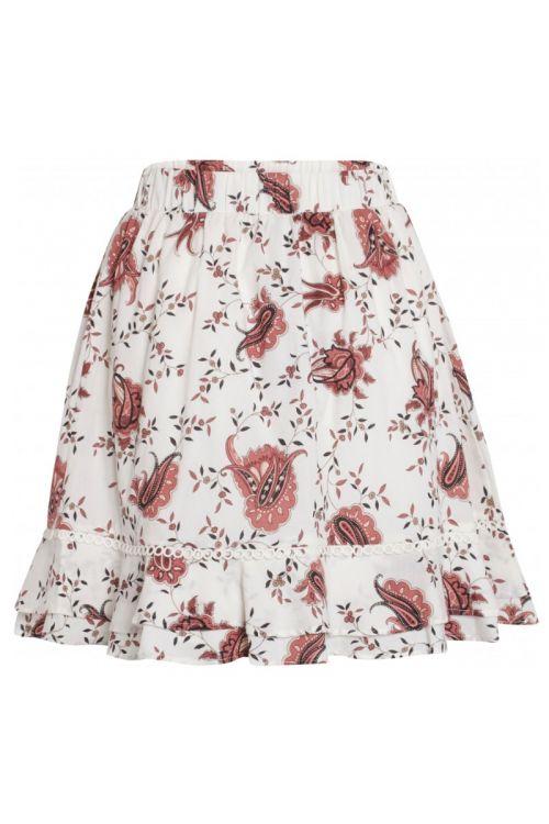 Bruuns Bazaar  Nederdel Aster Ohline Skirt Paisley Flower Print Front