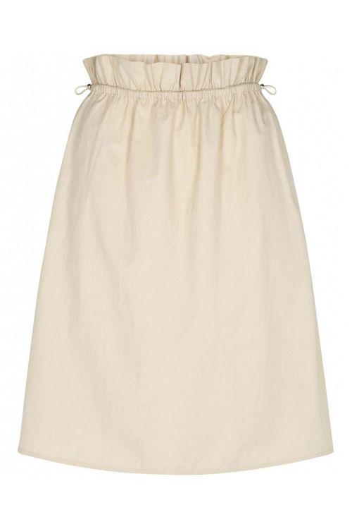 Bruuns Bazaar Nederdel Freyie Telmie Skirt Sand Front