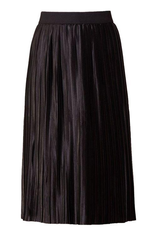 Bruuns Bazaar Nederdel Penny Cecilie Skirt Black Front