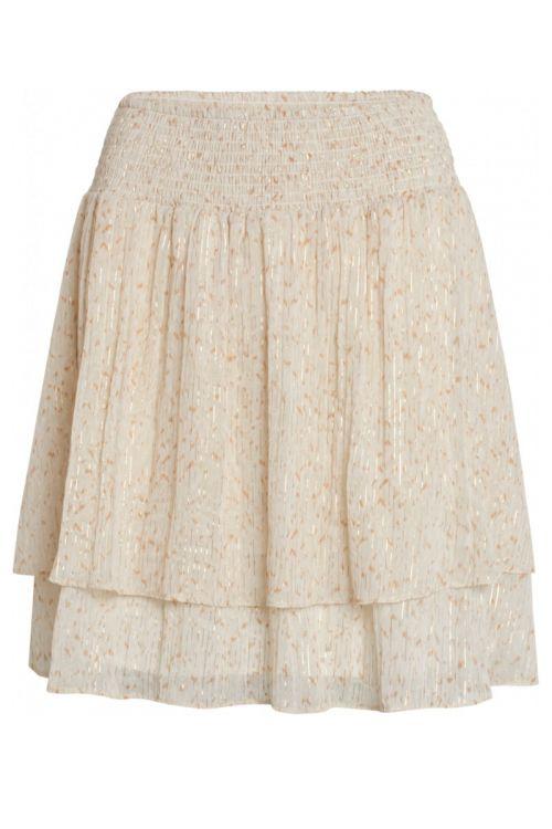 Bruuns Bazaar - Nederdel - Vervain Estella Skirt - Modern Artwork Light