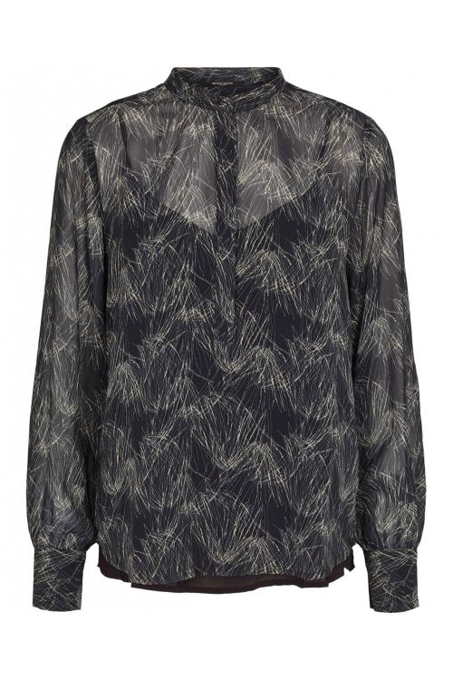 Bruuns Bazaar Skjorte Draw Meg Shirt Draw Artwork Front