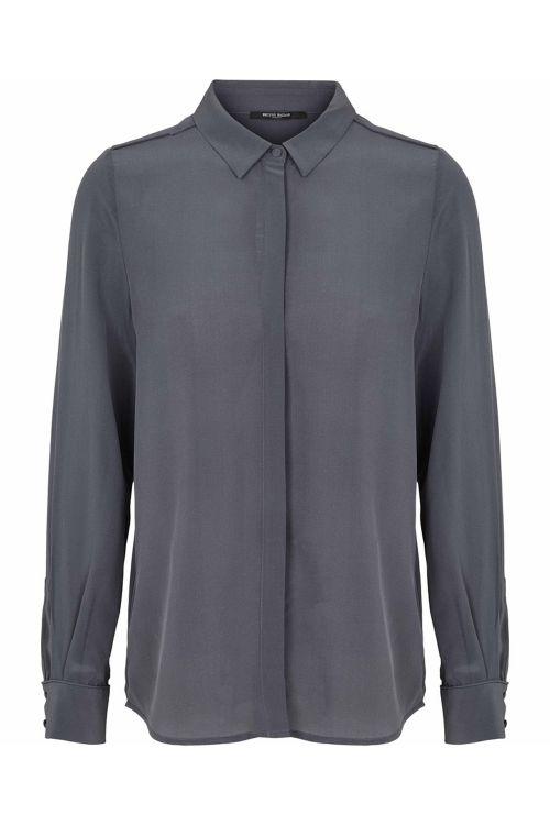 Bruuns Bazaar Skjorte Lillie Corine Shirt Graystone Front