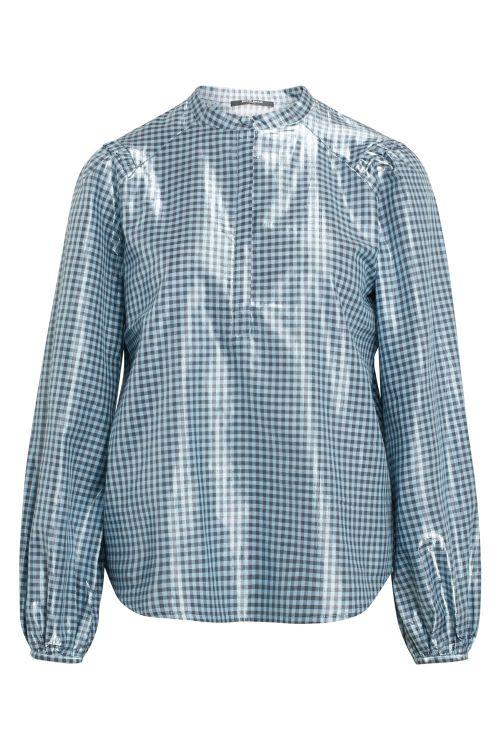 Bruuns Bazaar Skjorte Notting Terni Shirt Aqua Blue Front