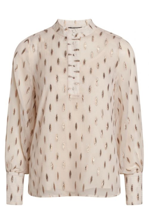 Bruuns Bazaar - Skjorte - Persian Maren Shirt - Pale Sand
