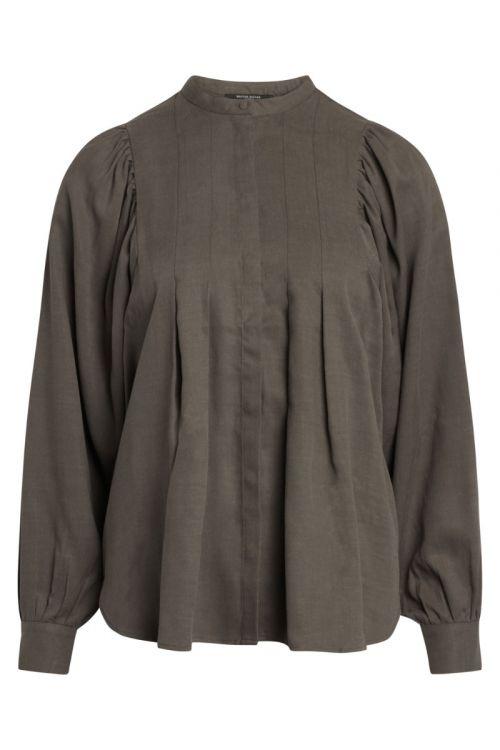 Bruuns Bazaar - Skjorte - Pralenza Eadie Shirt - Major Brown