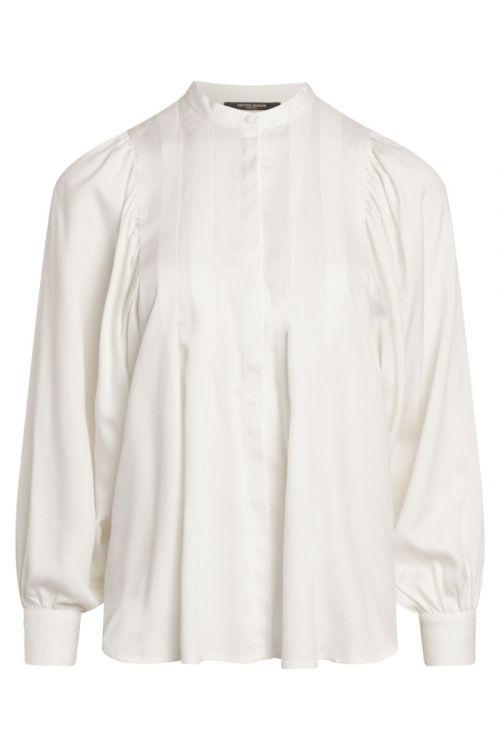 Bruuns Bazaar - Skjorte - Pralenza Eadie Shirt -Snow White