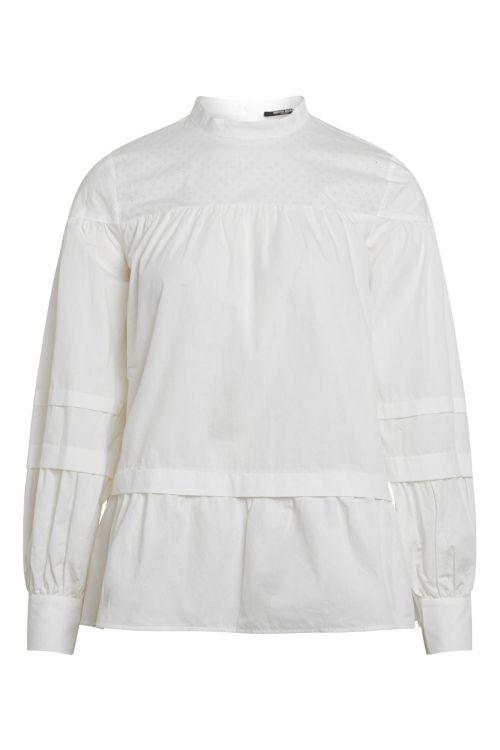 Bruuns Bazaar Skjorte Rosie Malli Shirt White Front