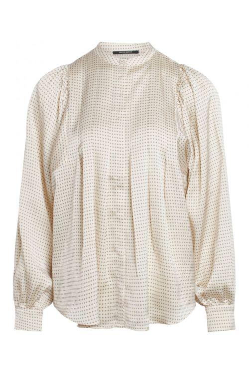 Bruuns Bazaar - Skjorte - Women Acacia Eadie shirt - White Cream