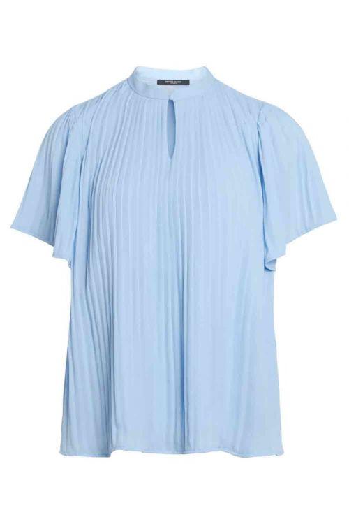 Bruuns Bazaar - T-shirt - Camilla Ellevira Shirt - Sky