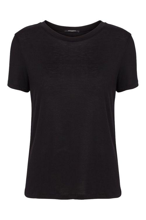 Bruuns Bazaar T-shirt Katka SS T-shirt Black Front
