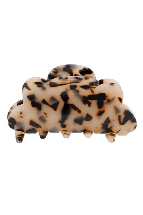 By Stær - Hårklemme - Fenja - Light Leopard