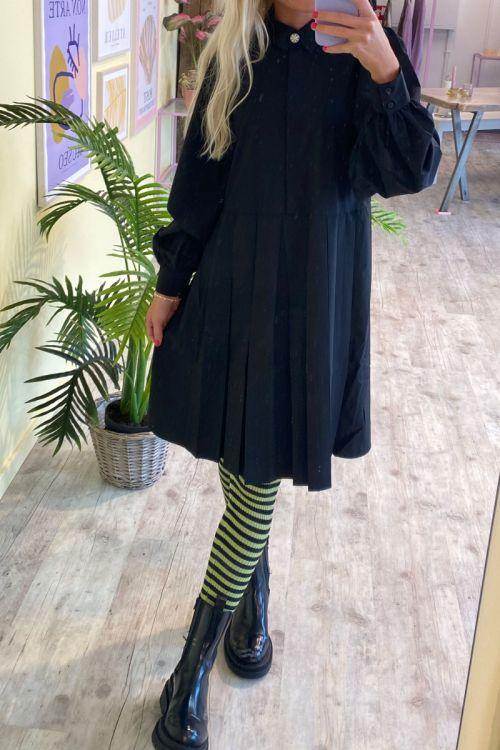 BZR - Kjole - Fort Cali Dress - Black