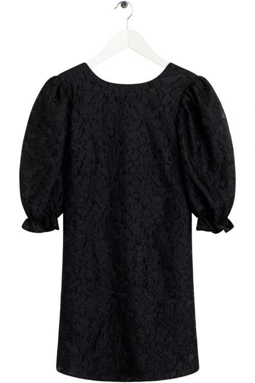 BZR  Kjole  Ollie Frida dress  Black Front