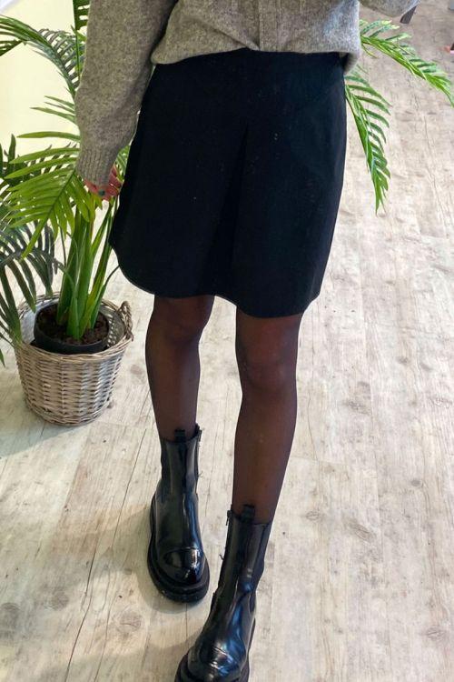 BZR - Nederdel - Fort Nashville Skirt - Black