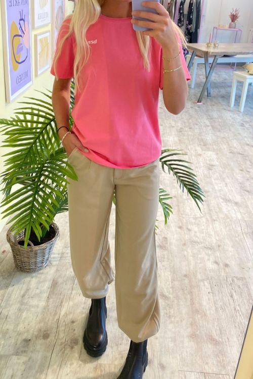 BZR - T-shirt - Houston SS T-shirt - Pink