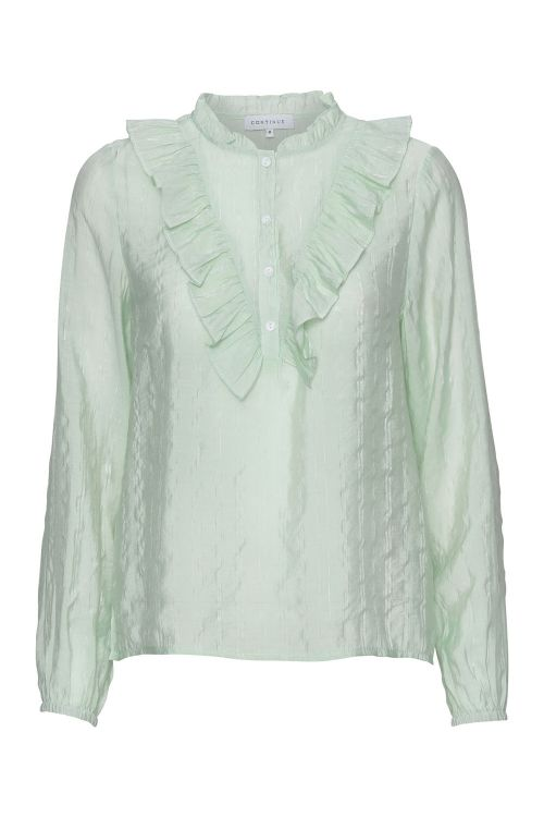 Continue Bluse Amy Cotton Blouse Aquarel Front