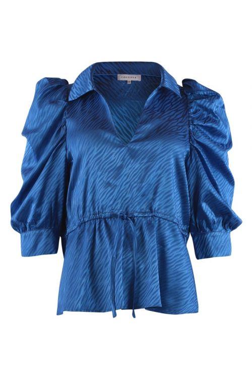 Continue - Bluse - Cita Blouse - Electric Blue