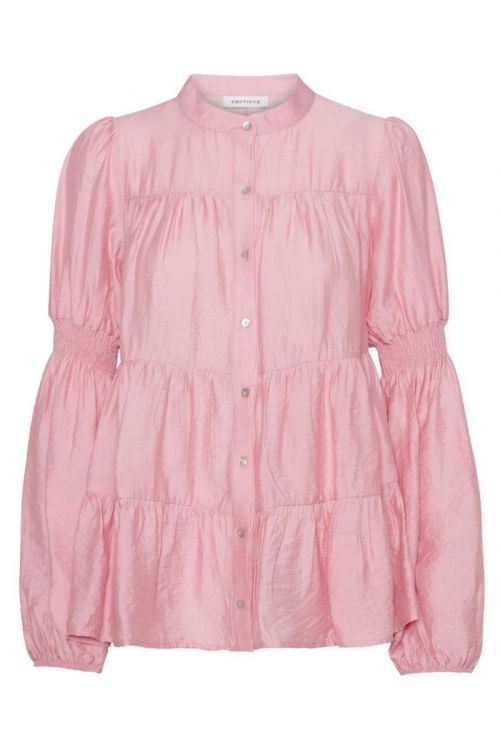 Continue - Bluse - Sanna Solid - Pink