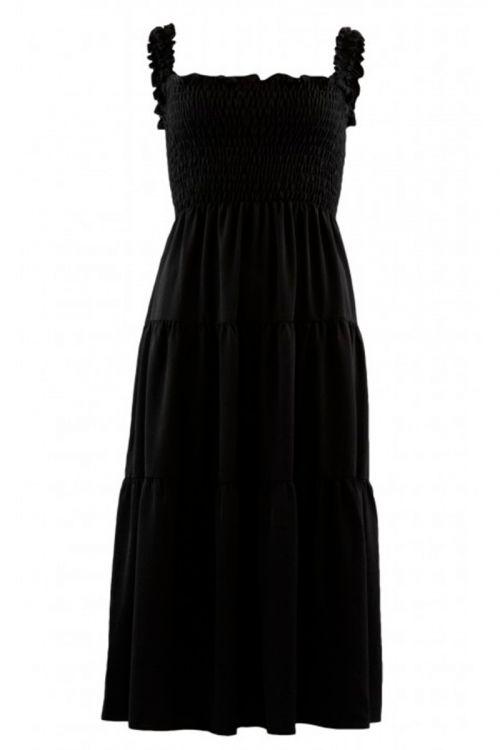 Continue - Kjole - Beth Smock Dress - Black