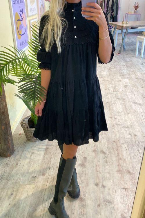Continue - Kjole - Isabella Dress - Black