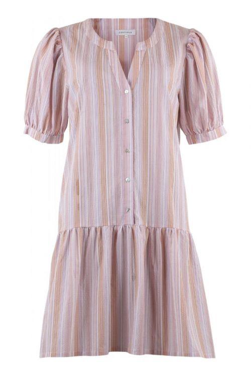 Continue - Kjole - Jessica Multi Stripe - Multi Stripe