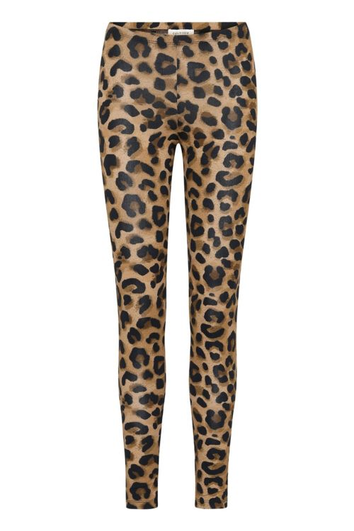 Continue Leggings Paya Leo Leggings Leo Brown Front
