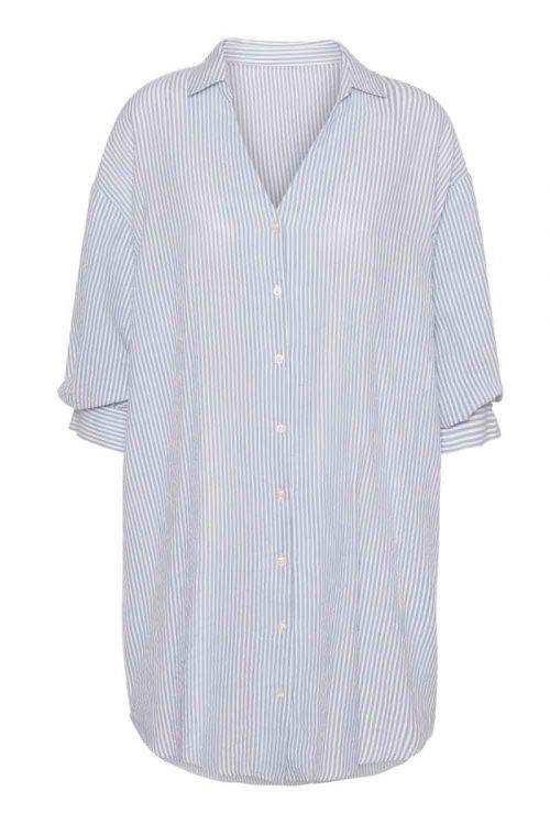 Continue - Skjorte - Carrie Stripe - Blue Stripe
