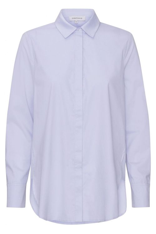 Continue Skjorte Melia Shirt Light Blue Front