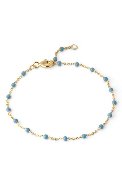 Enamel Armbånd Lola Bracelet Blue Front