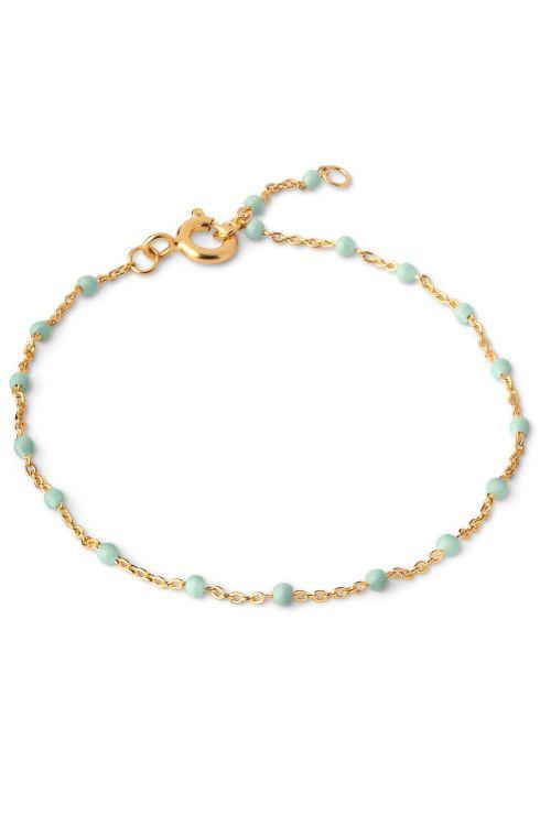 Enamel Armbånd Lola Bracelet Mint Front