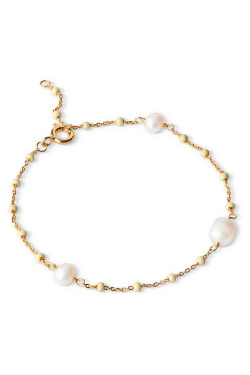 Enamel - Armbånd - Lola Perlita Bracelet - Lemone/Pearl