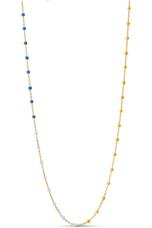 Enamel Halskæde Lola Necklace Breezy Front