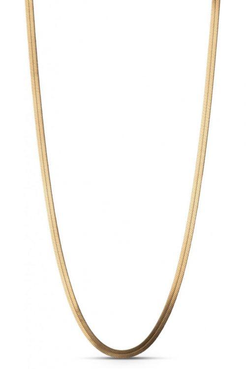 Enamel Halskæde Caroline Gold Front