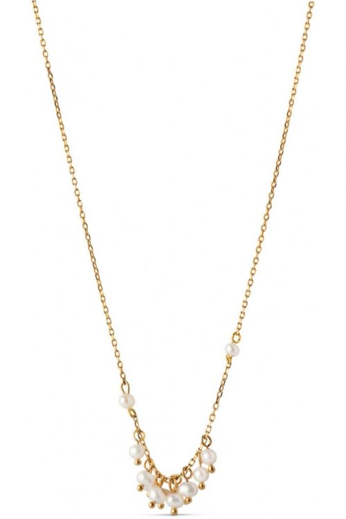 Enamel - Halskæde - Ophelia Necklace - Gold