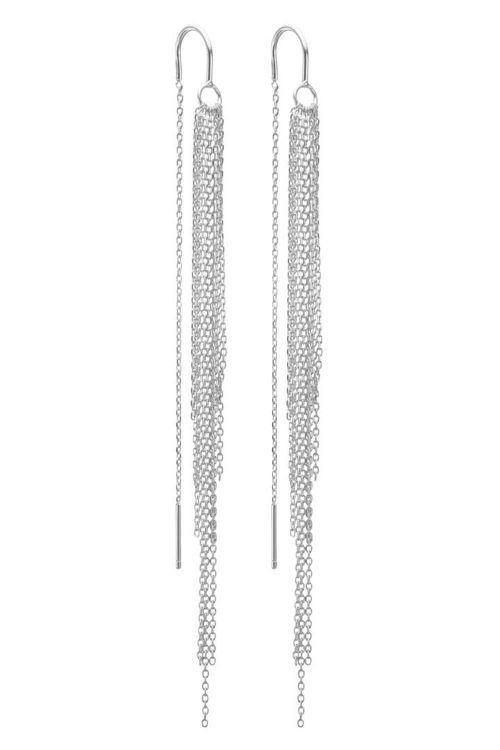 Enamel - Øreringe - Waterfall - Silver
