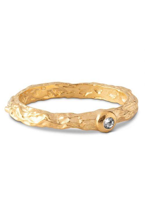 Enamel - Ring - Coralie Ring - Gold