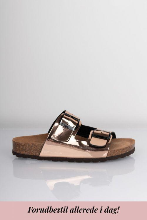 Lykke by Lykke Sandaler Happy Bio sandal Bronze Metallic